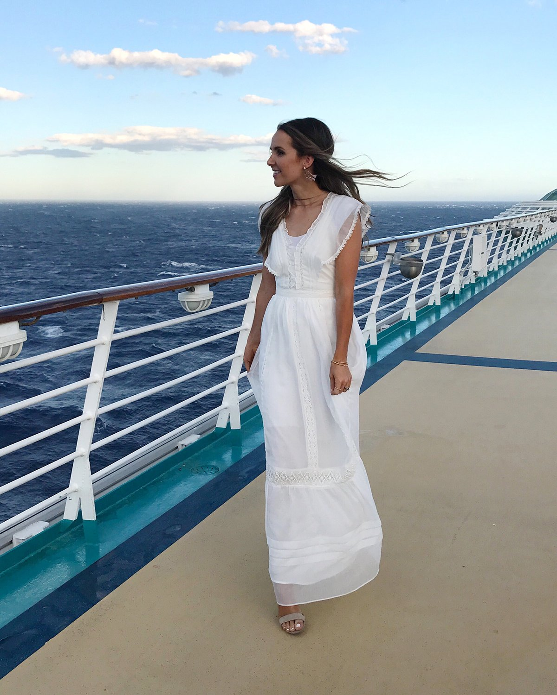merricksart.com | white maxi dress