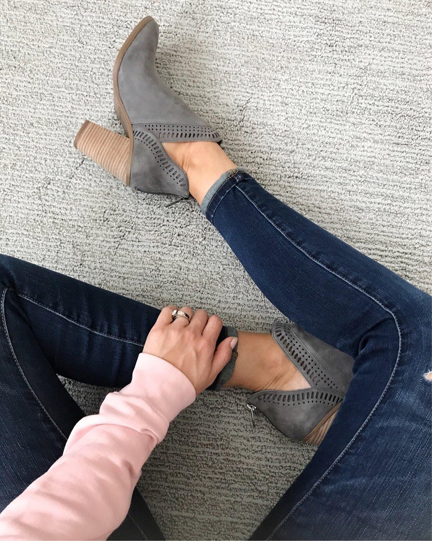merricksart.com | gray booties