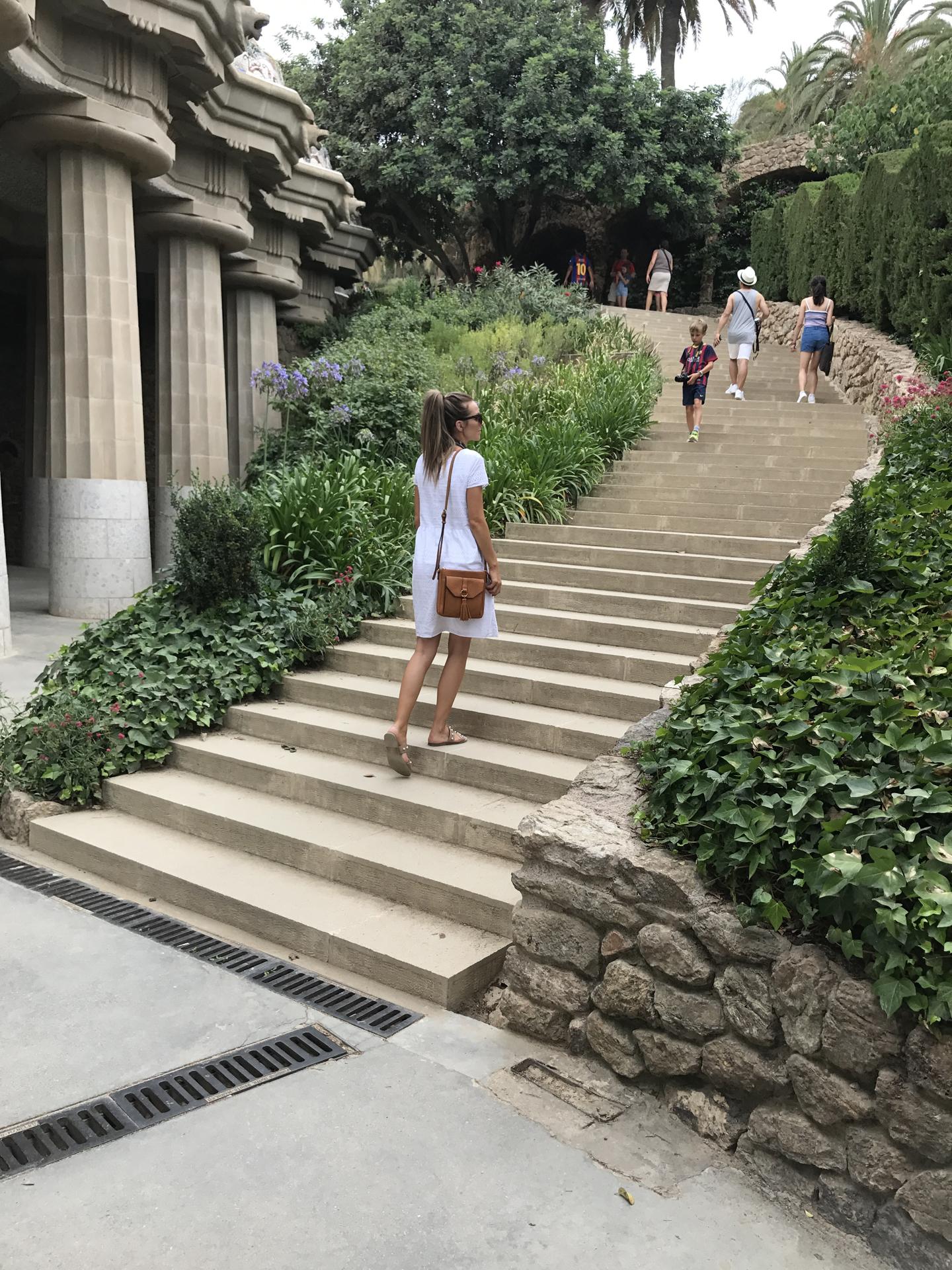 Merrick's Art Park Guell Staircase