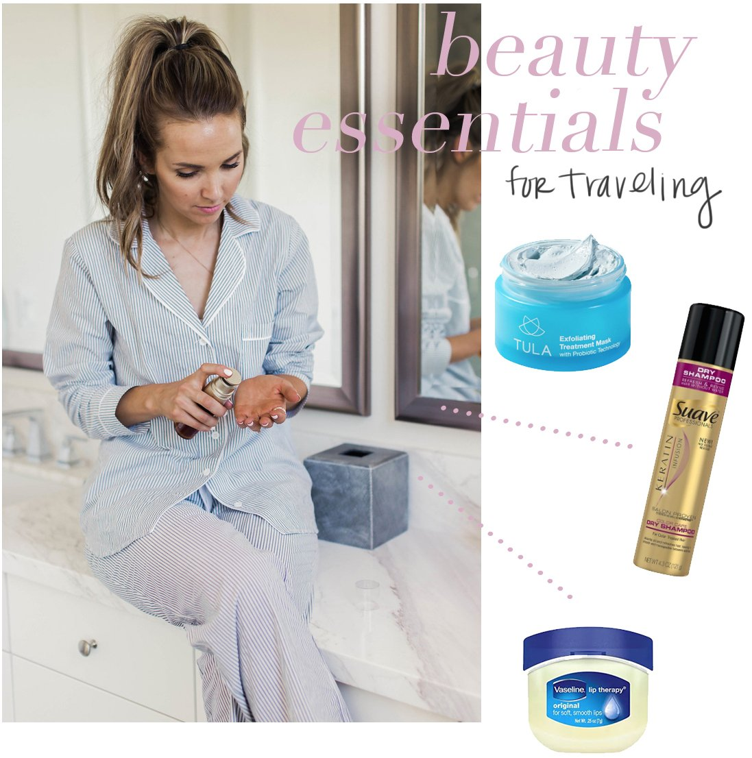 my five beauty essentials for traveling | merricksart.com