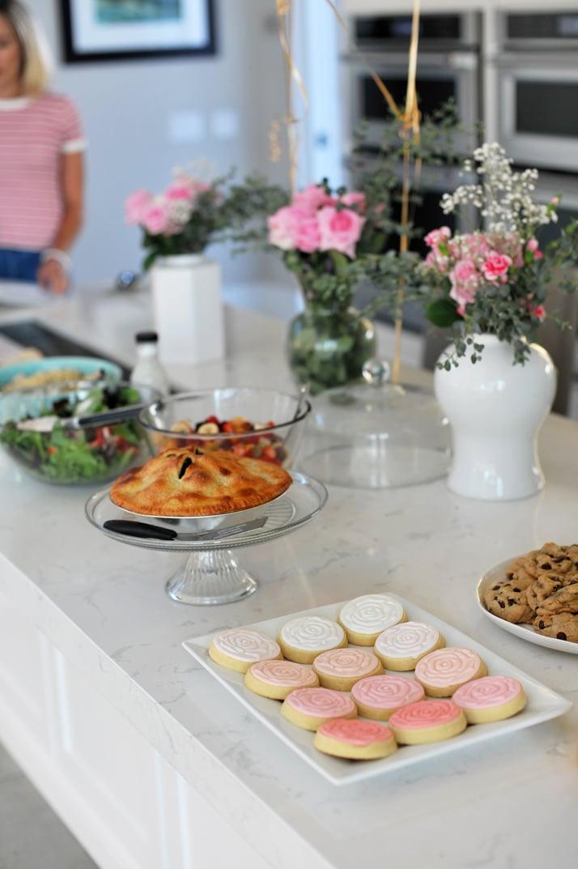 merricksart food table party