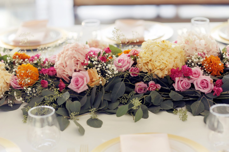 merricksart hydrangea flower arrangement