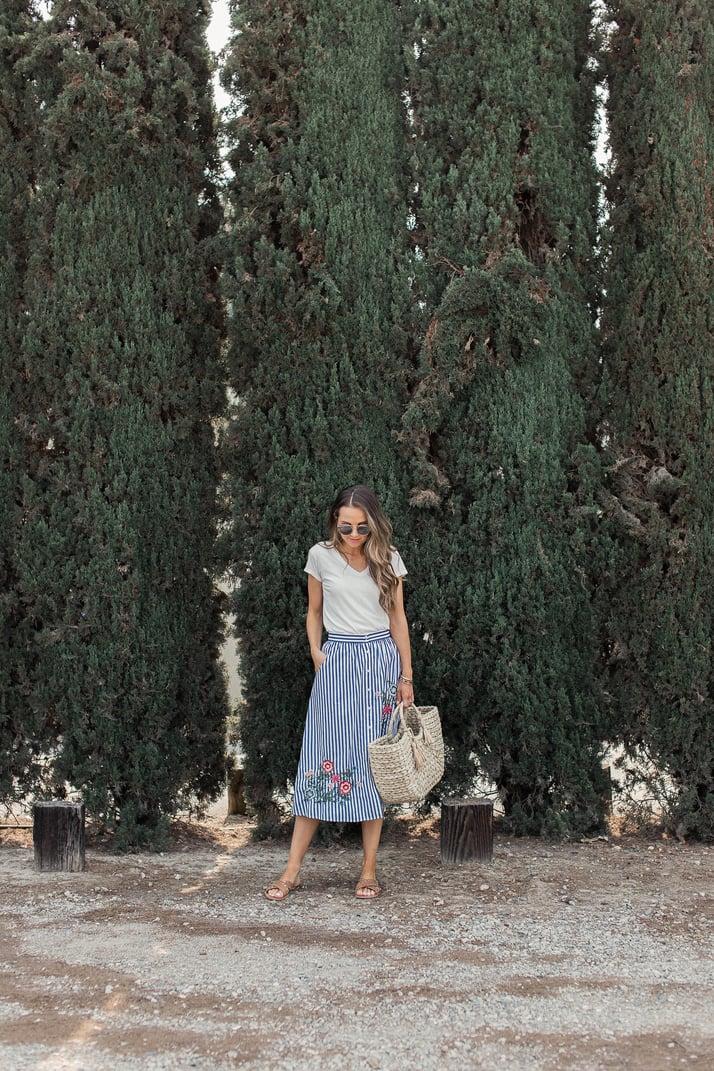 merricksart.com basic midi skirt
