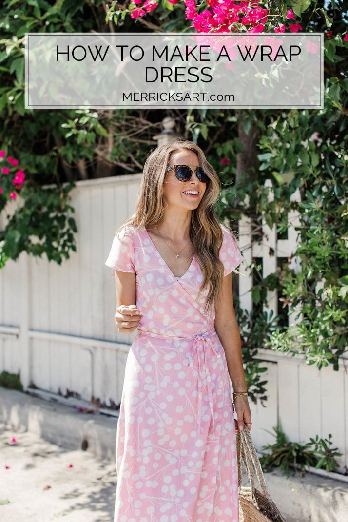merricksart.com diy wrap dress 2