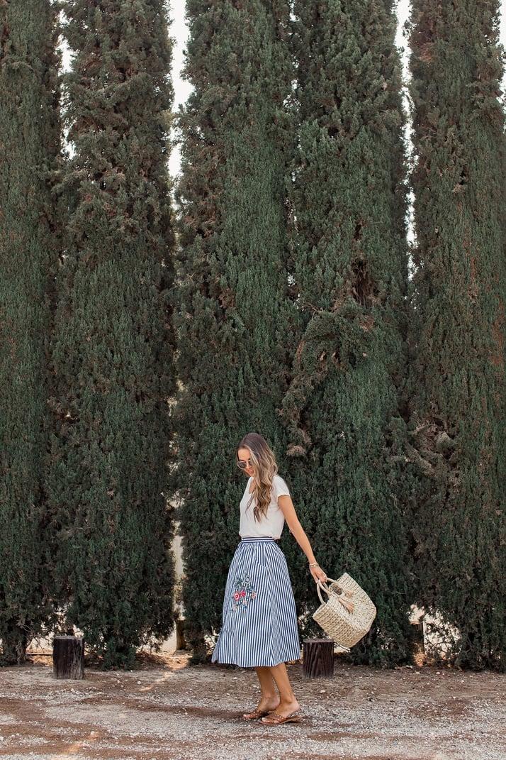 merricksart.com how to wear a midi skirt