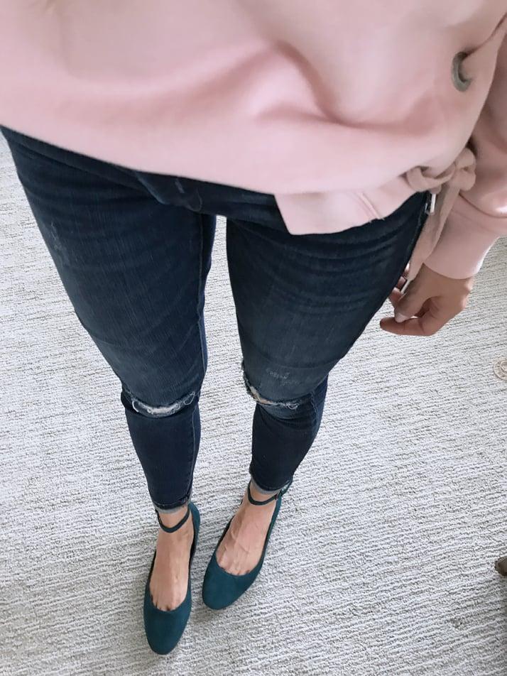 merricksart.com sincerely jules lace up sweatshirt