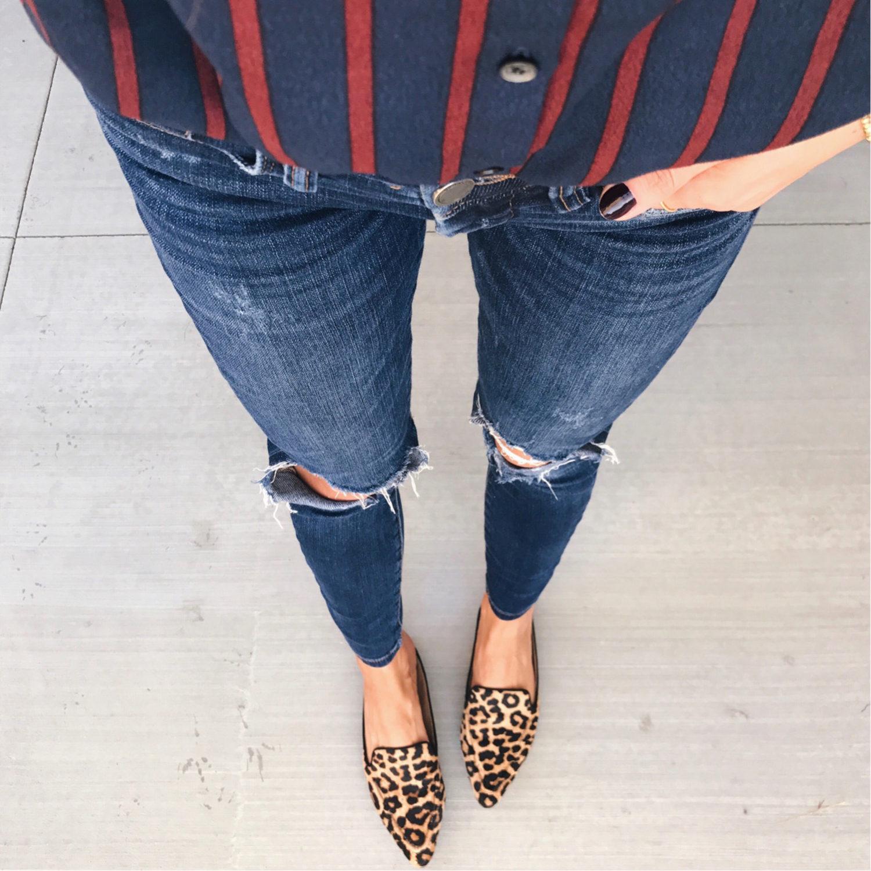 leopard print loafers | merricksart.com