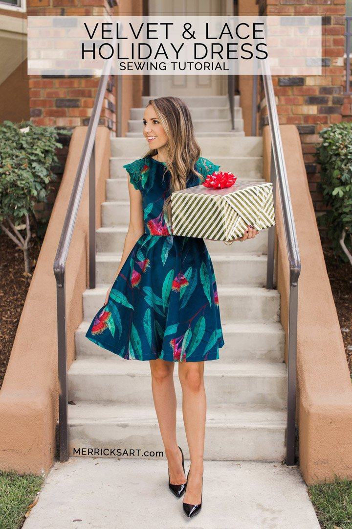 The DIY statement dress that's perfect for any holiday party