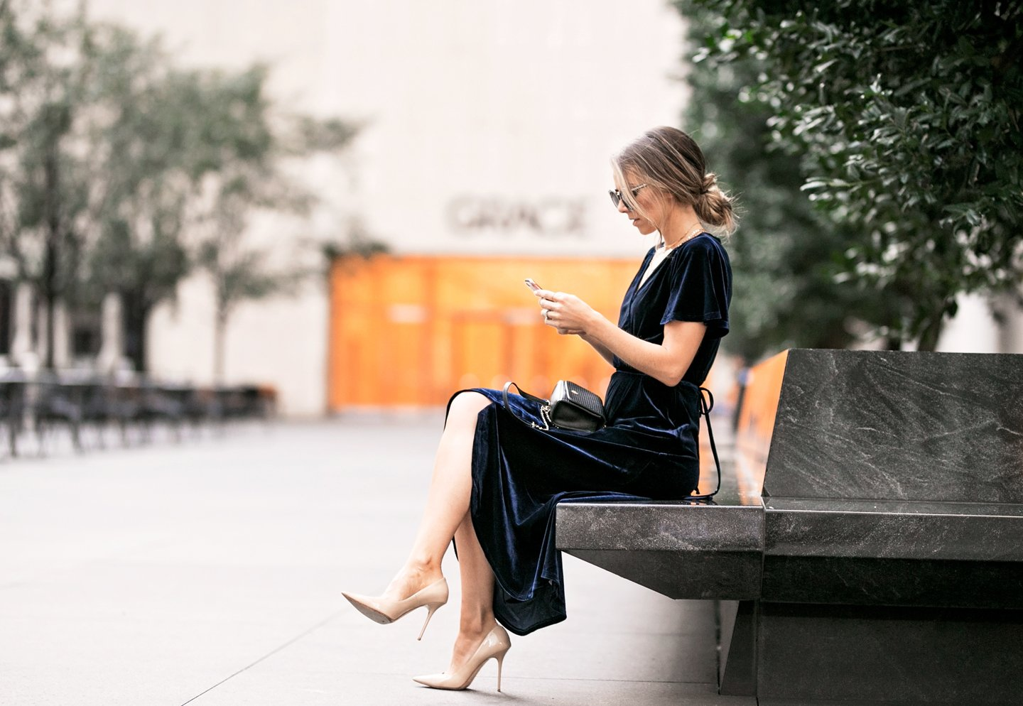a sophisticated option for a cocktail dress