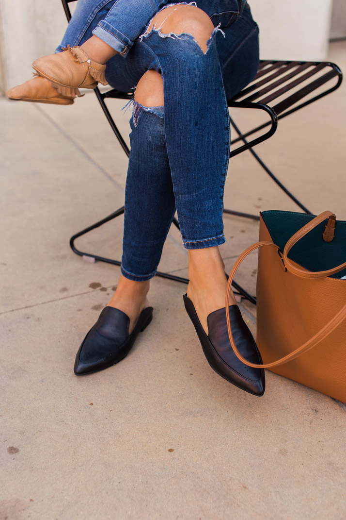 Obsessed with these Kristin Cavallari Leather Mules