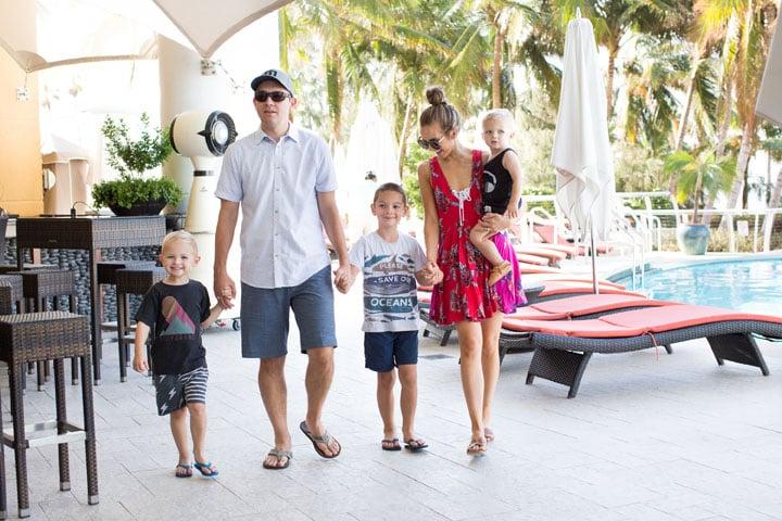 a family vacation to the mandarin oriental, miami