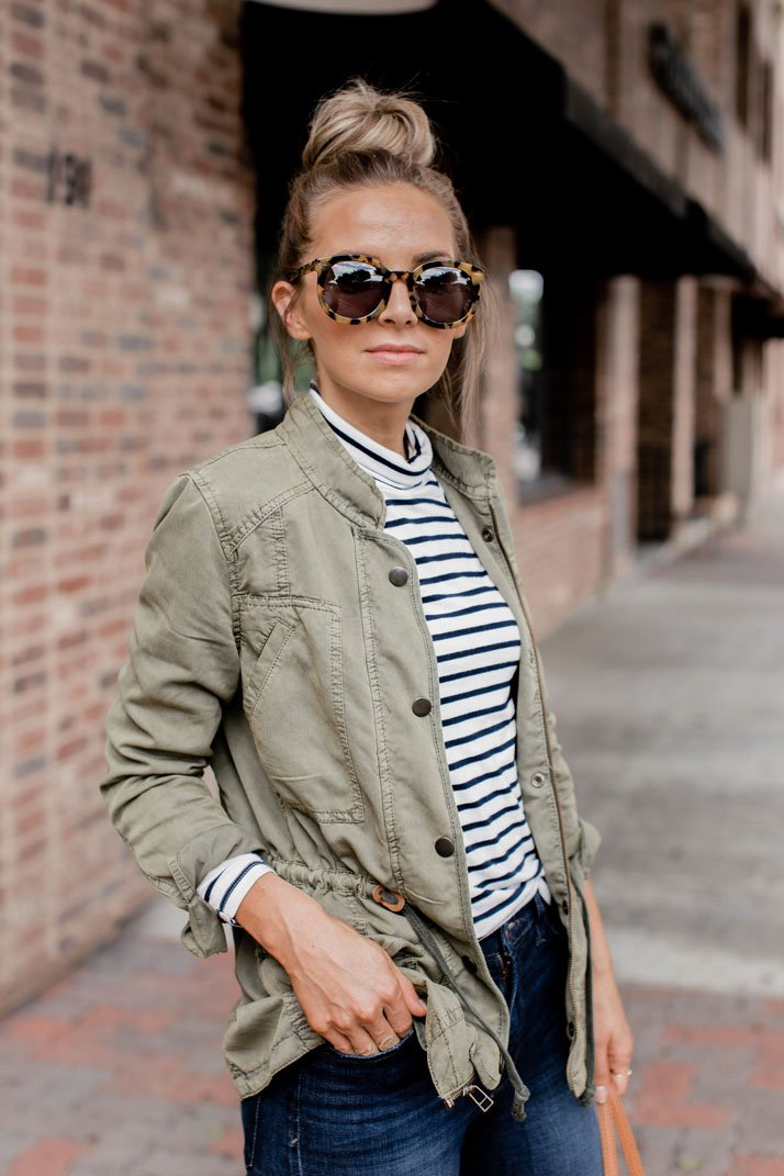 striped shirt women