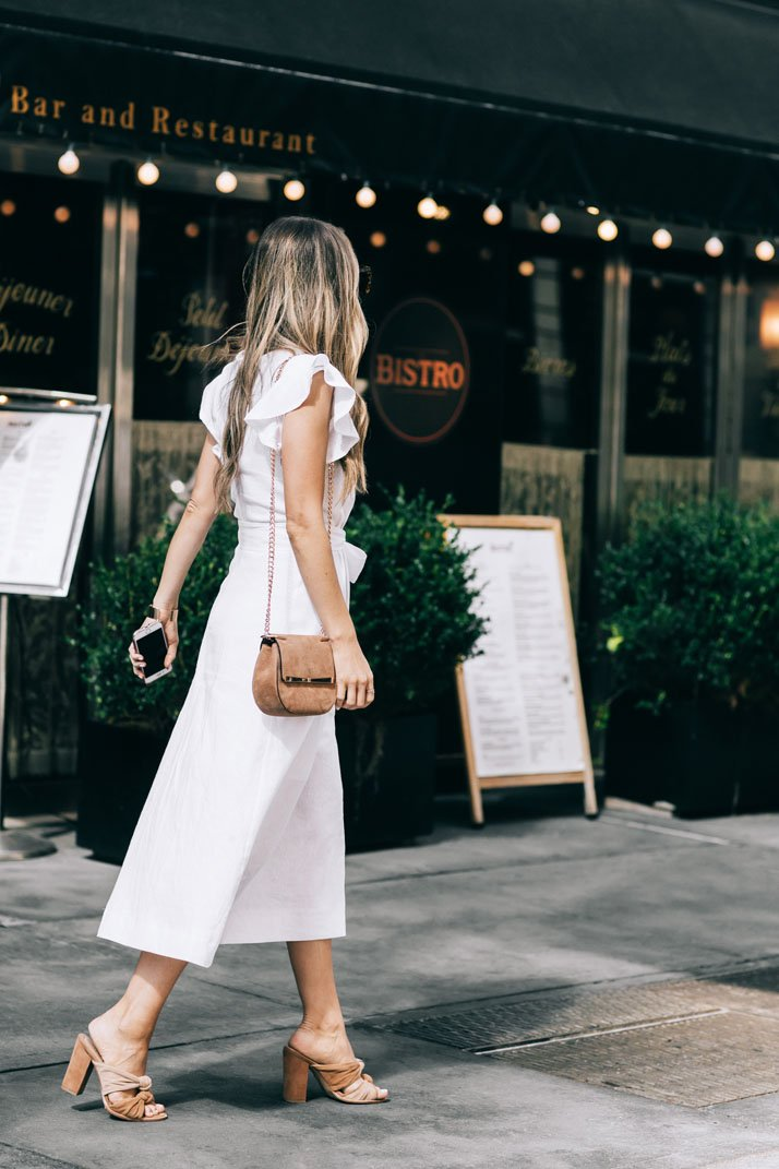 a perfect one-and-done dress for summer