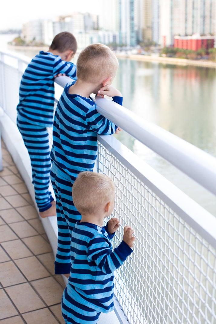 matching boy pajamas