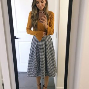 gingam skirt | merricksart.com