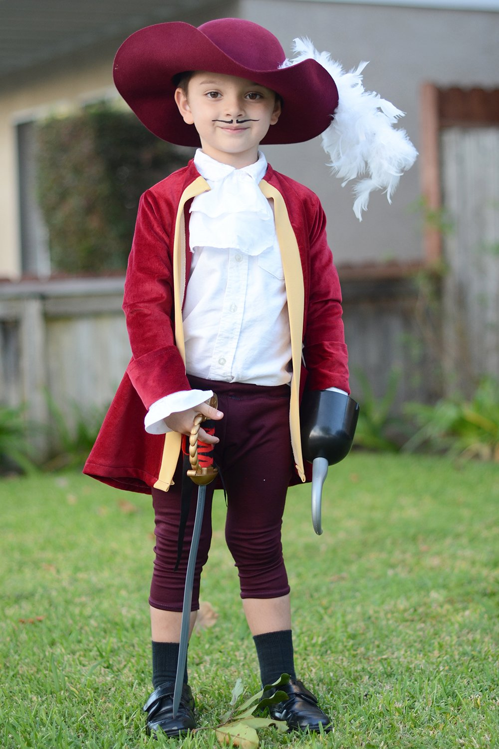 Captain Hook Costume | merricksart.com