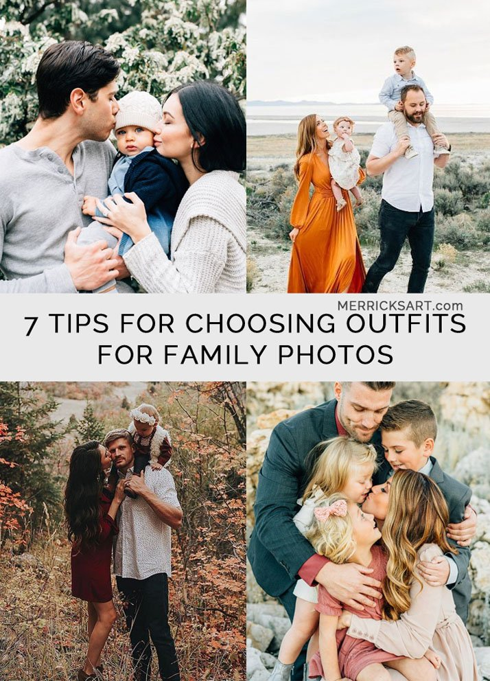 Tips for choosing your family outfits and having beautiful family portraits