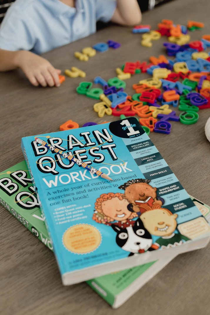 my favorite workbooks for kids