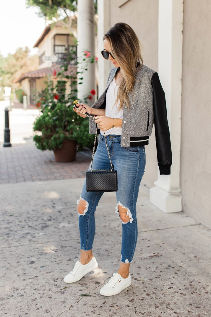an easy casual fall outfit