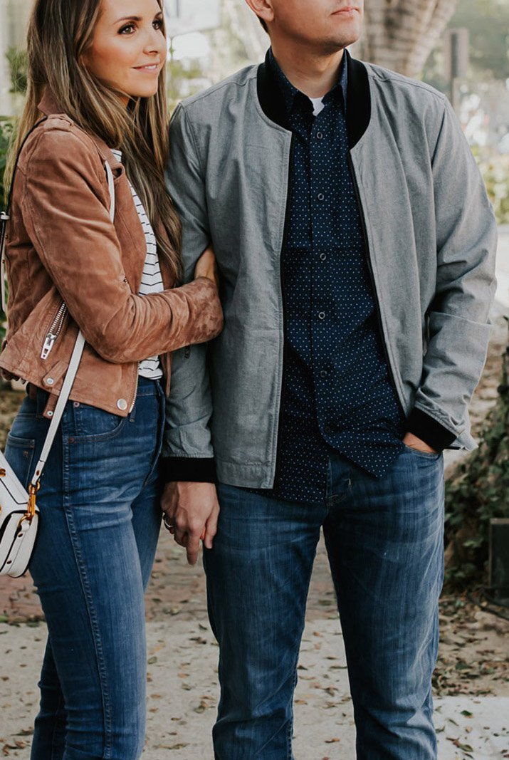 his and hers jackets for fall from Nordstrom