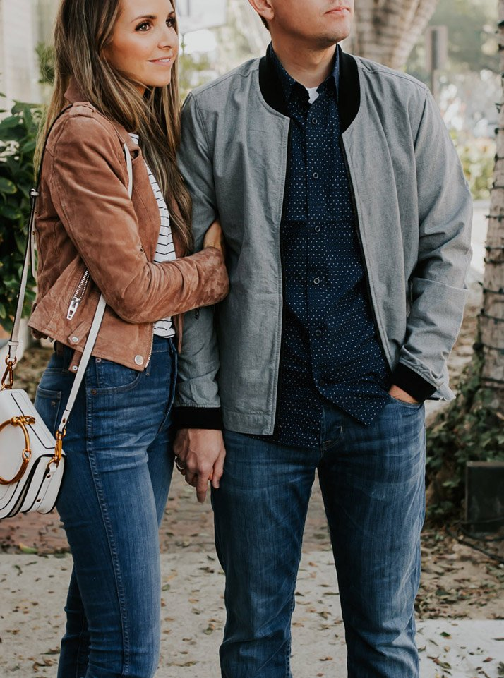 His and hers fall jackets from Nordstrom