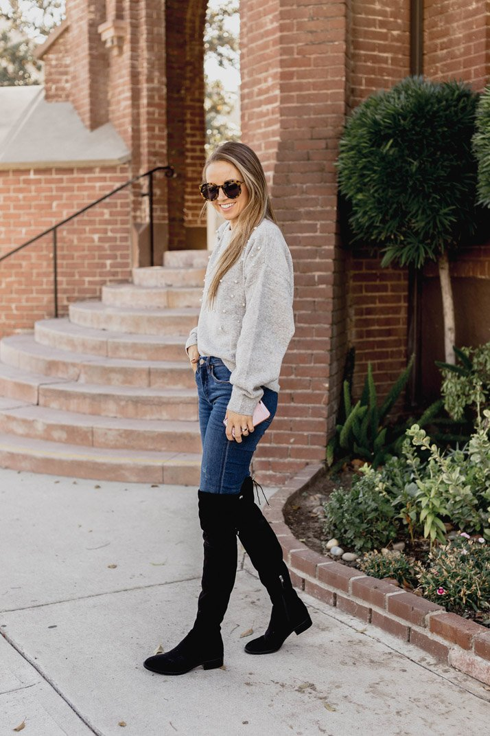 An easy fall outfit combination