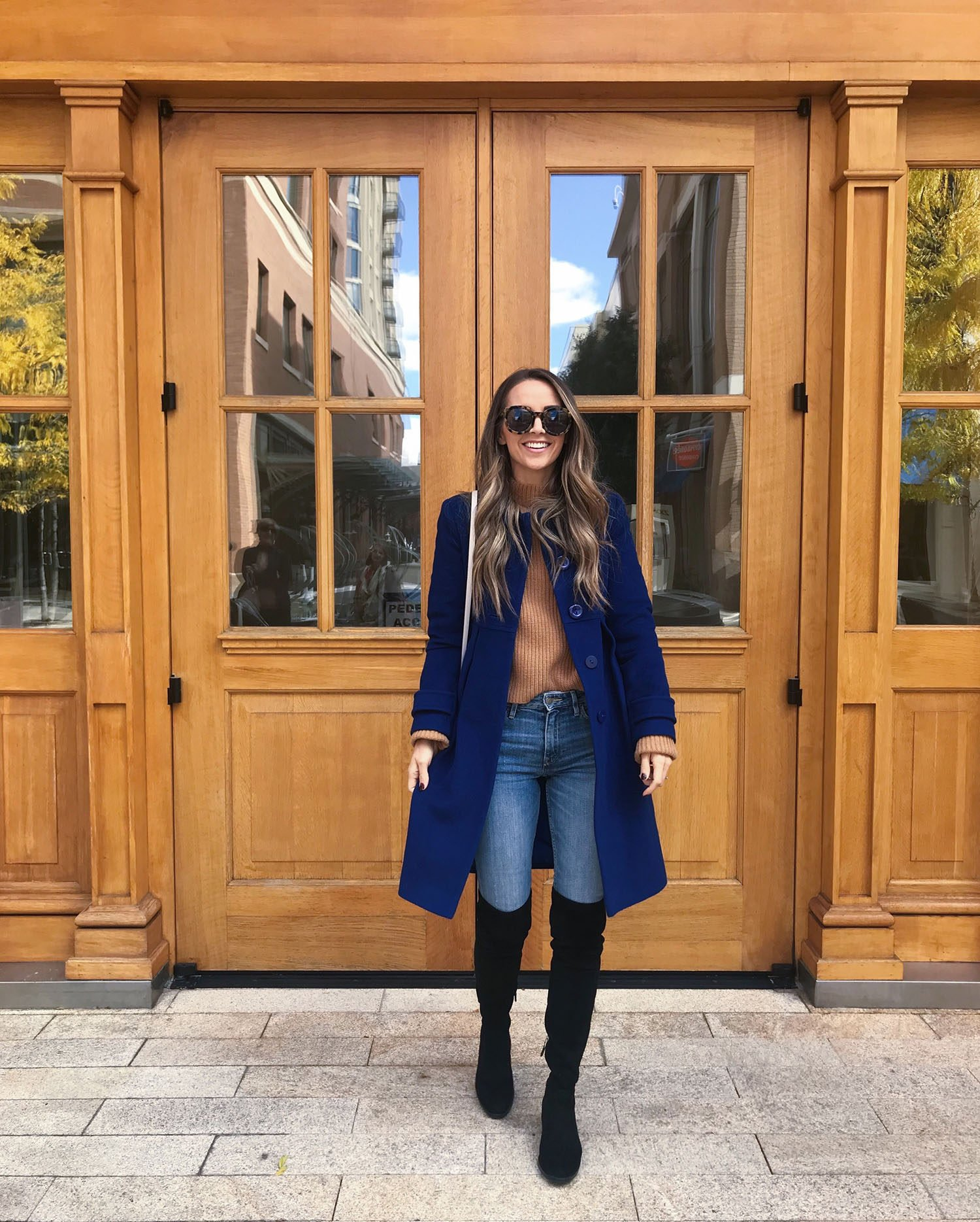 blue jacket and otk boots | merricksart.com