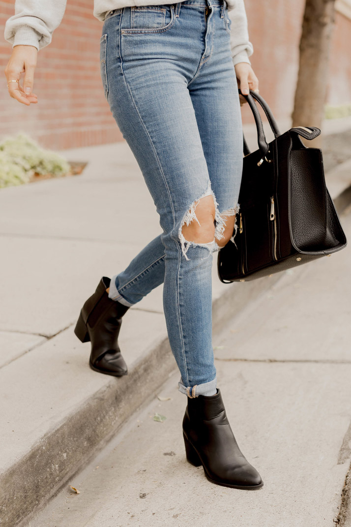 Black Ankle Boots under $40