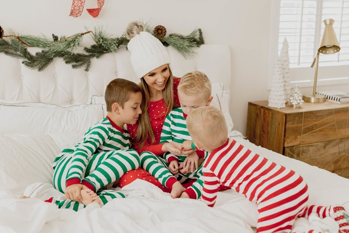 red and green christmas pajamas - Nordstrom Christmas Pajamas