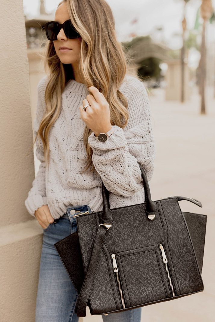 Black and gray with my daniel Wellington watch