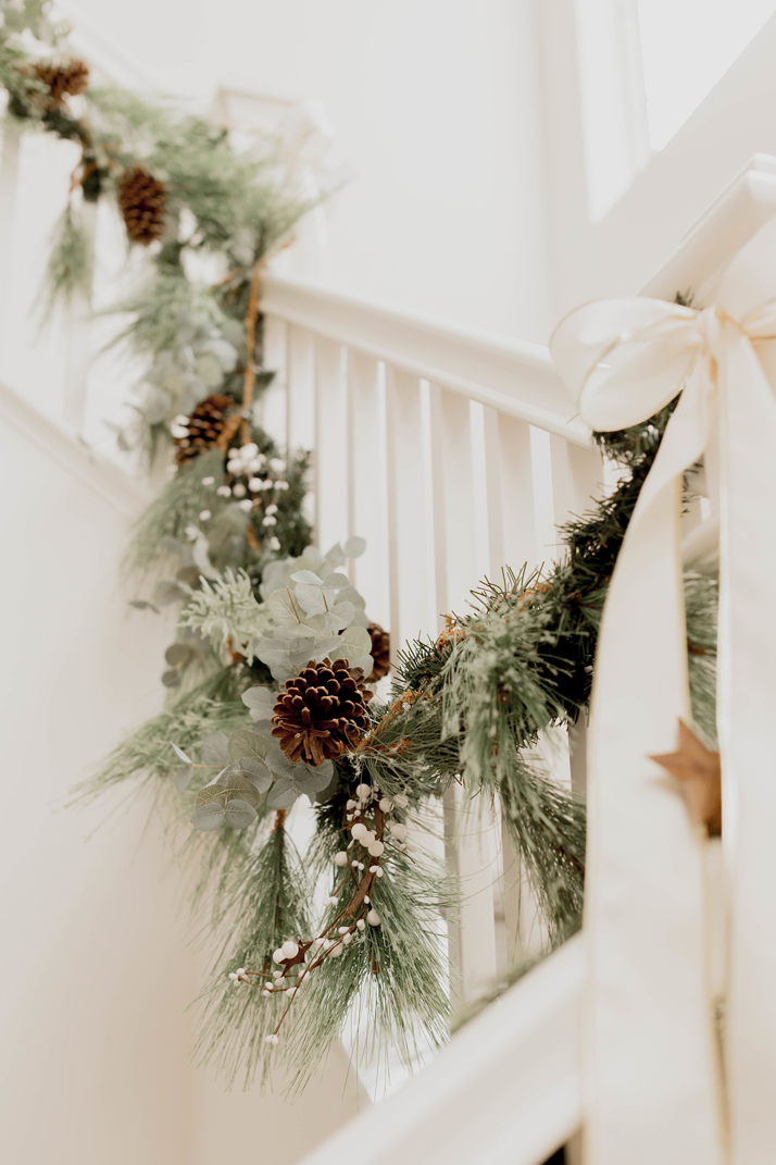 how to spruce up your garland