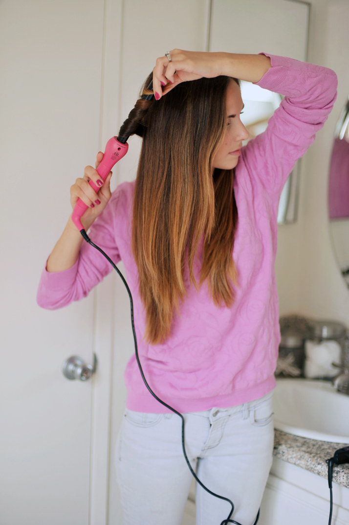 my favorite curling wand