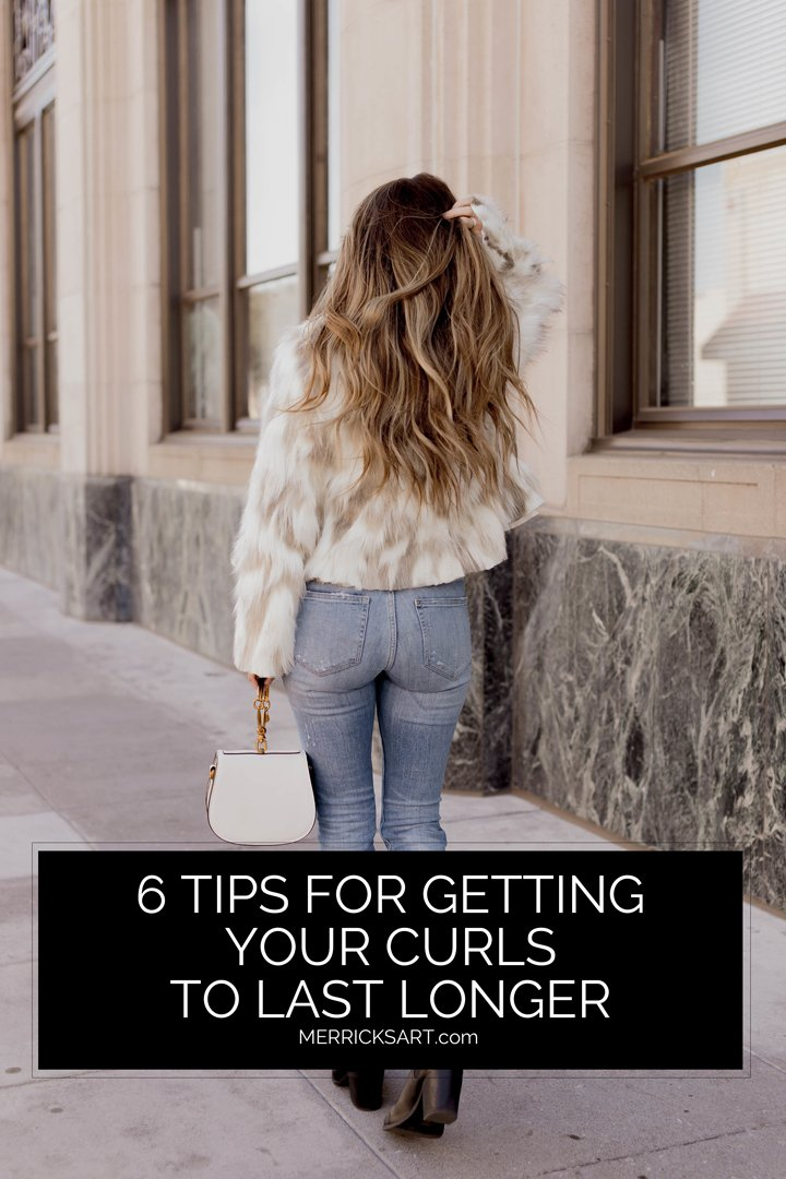 how to make your curls last several days