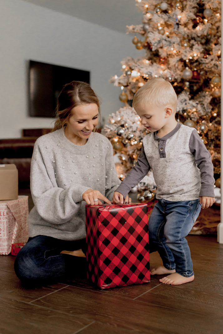 wrapping presents is one of our favorite things to do