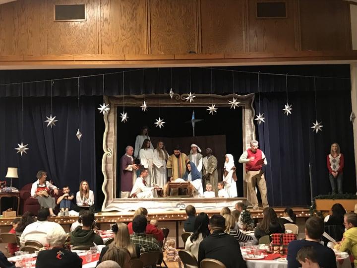 picture a christmas church christmas program details script