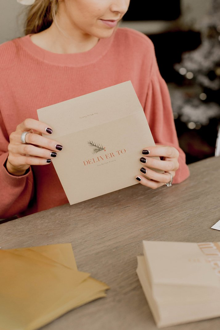 minted.com has the most beautiful quality holiday cards out there!
