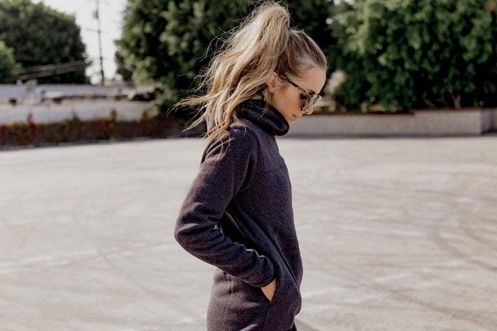 Nike women running hoodie