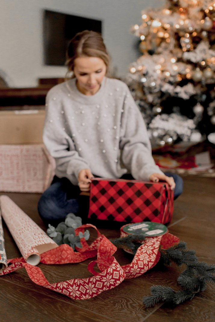 wrapping presents with retailmenot