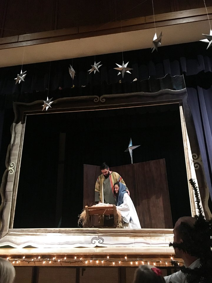 mary and joseph, picture a christmas