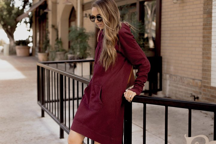 perfect hoodie dress