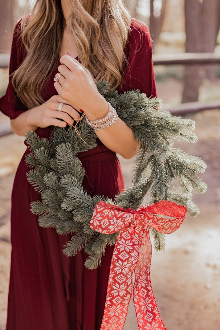 a perfect statement bracelet for your holiday look
