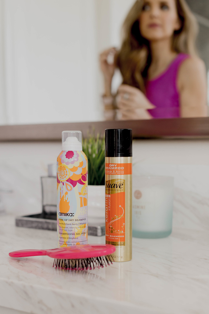 my favorite dry shampoos for right after I exercise