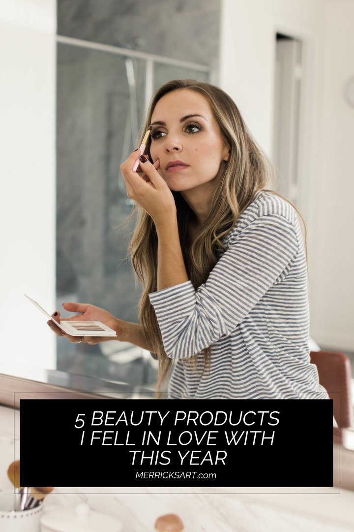 my favorite beauty products I've discovered in the last year