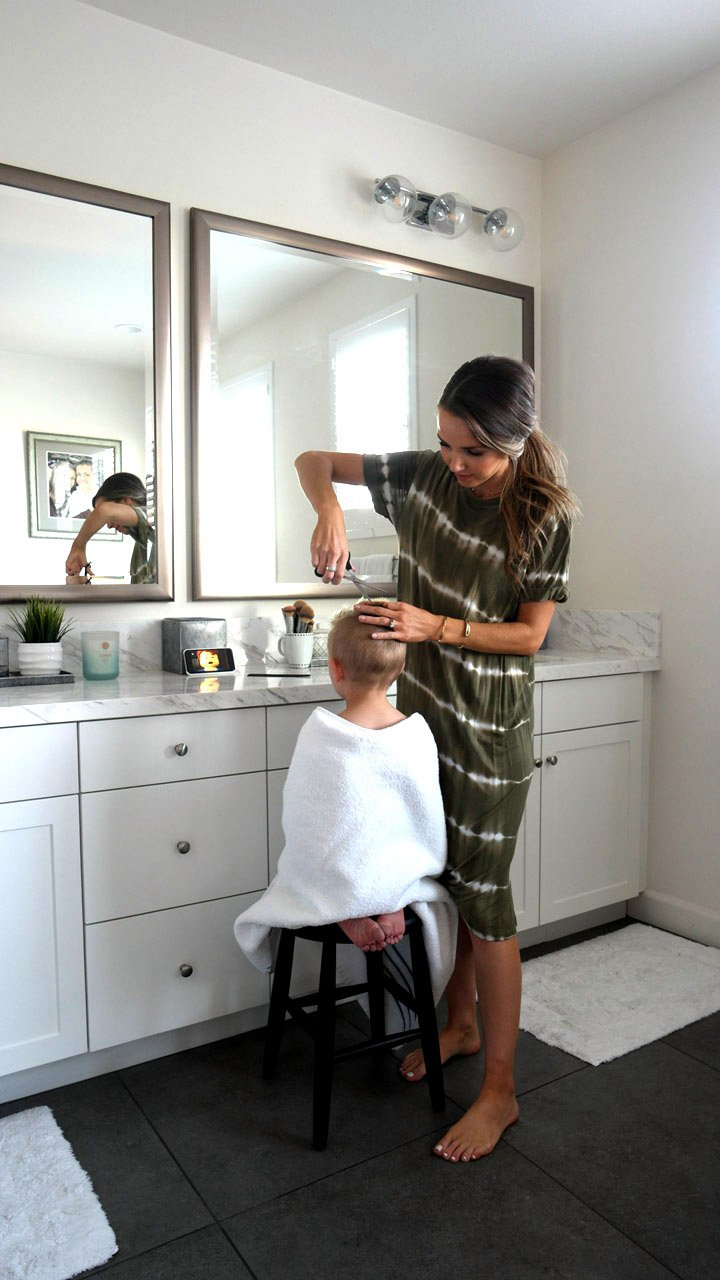 Easy boy's hair cut tutorial
