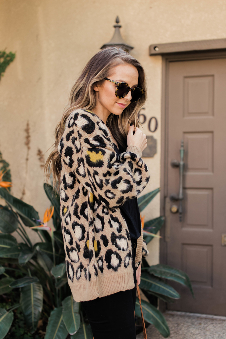 add a pop of leopard to your momiform