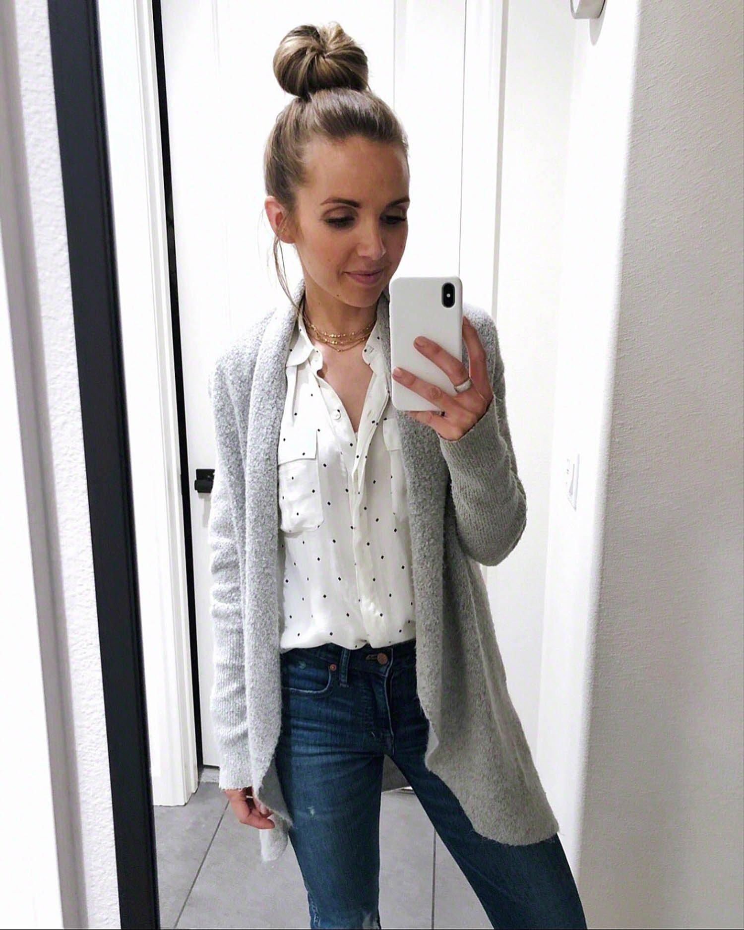 blouse and sweater | merricksart.com