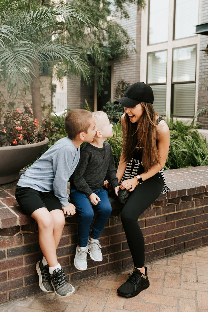 give ways I'm helping my kids develop healthier and happier habits
