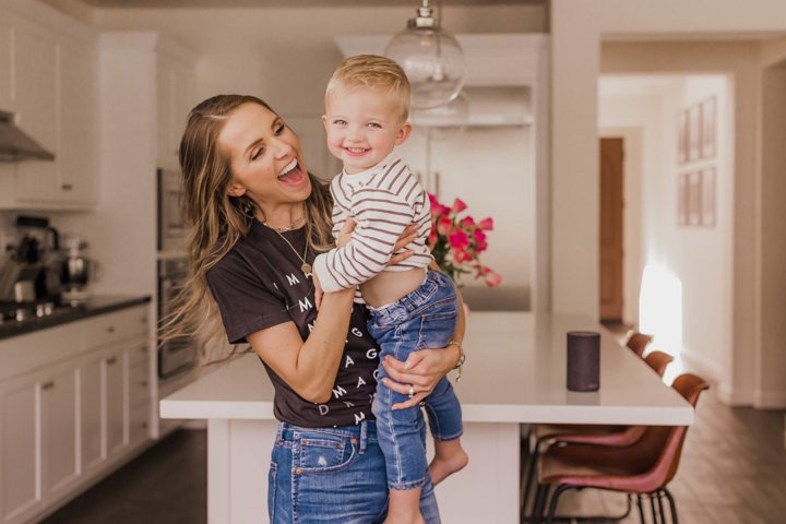 dancing in the kitchen with mama