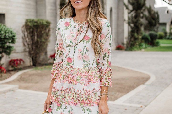 the perfect floral dress for Easter