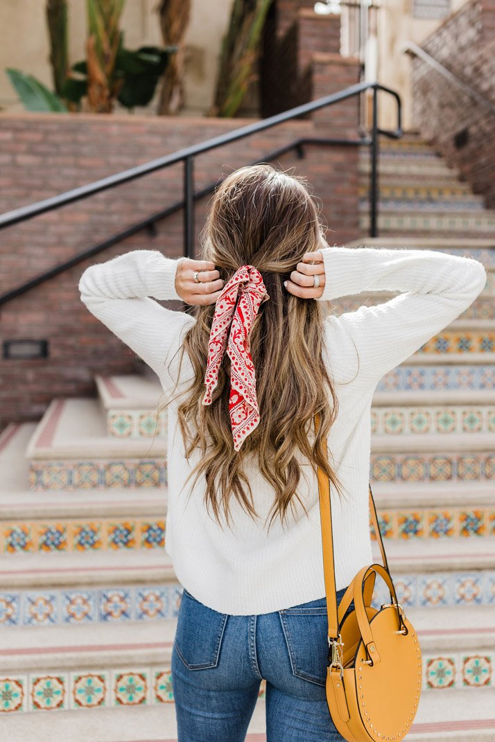 8 ways to wear a bandana scarf
